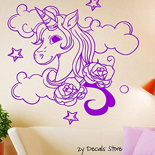 jiushivr Tatuajes de Pared para Cuarto de niños Cute Cartoon Wall ...