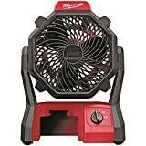 MILWAUKEE ELECTRIC TOOLS, Fan Jobsite W-ac Adptr 18v, EA