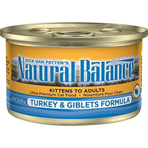Natural Balance Turkey & Giblets Formula Canned Cat Food 3oz