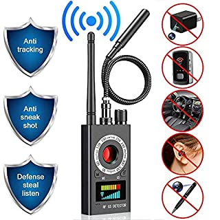 Anti Spy Detector,GPS Bug Detector, Camera Finder, Upgraded RF Signal Detector, Radar Radio Frequency Detector, Camera Finder for Wireless Audio