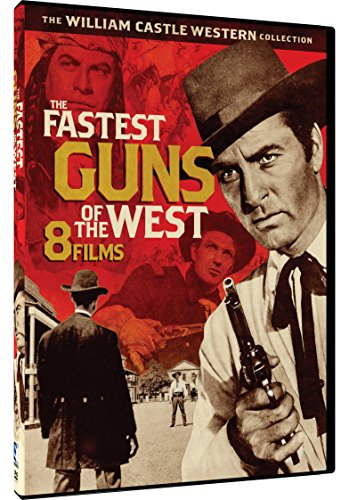 The Fastest Guns in the West - 8 William Castle Westerns]()