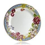Gien Millefleurs Dinner Plates, Set of 4