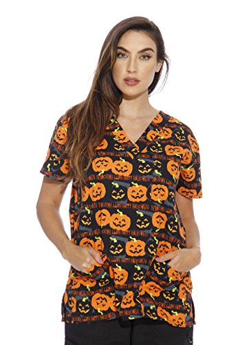 216V-19A-M Just Love Women's Scrub Tops / Holiday
