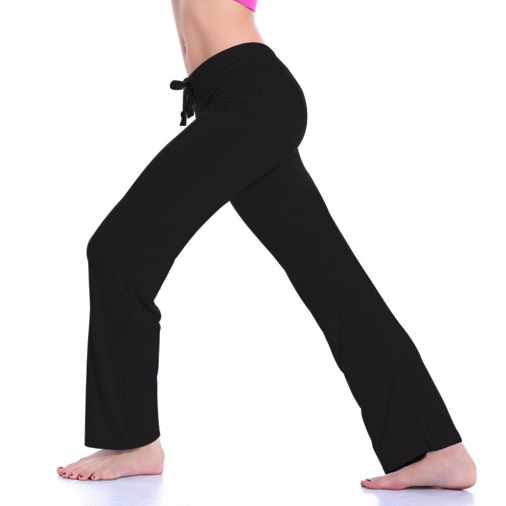 CFR Women's Harem Yoga Pants High Waist Soft Modal Lycra Fitness Leggings For Sports Dancing Black,M UPS Post by CFR (Image #6)