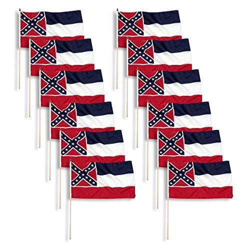 US Flag Store Mississippi flag 12 x 18 inch (12)