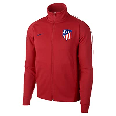 2017-2018 Atletico Madrid Nike Authentic Franchise Jacket (Red)