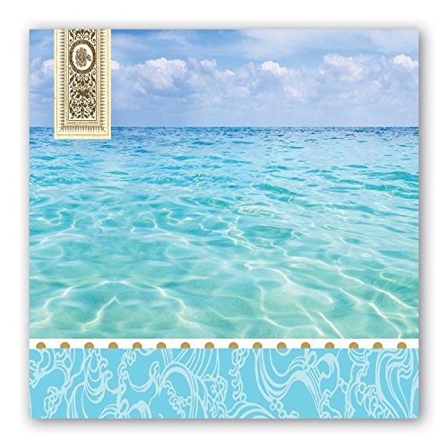 Michel Design Works 20-Count 3-Ply Paper Luncheon Napkins, Beach ()