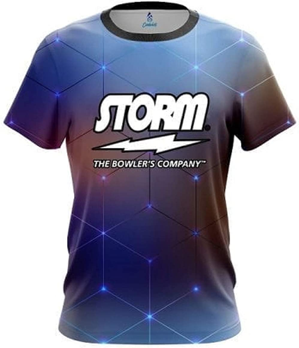 Coolwick Storm Digital Cubes Bowling Jersey