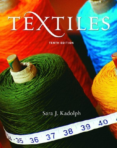 Textiles (10th Edition) by Sara J. Kadolph (2006-07-24)