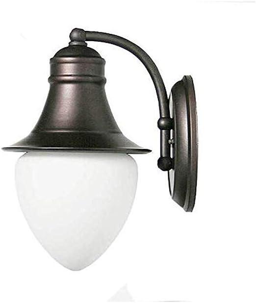 MoiHL Lámpara de Pared Jardín Durazno Linterna Impermeable s Porche Edificio Patio Luces Apliques Lámparas de iluminación: Amazon.es: Hogar