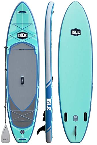 ISLE Airtech Inflatable Explorer Stand Up Paddle Board (6