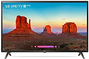 LG Electronics 43UK6300 43-Inch 4K Ultra HD Smart LED TV (2018 Model)