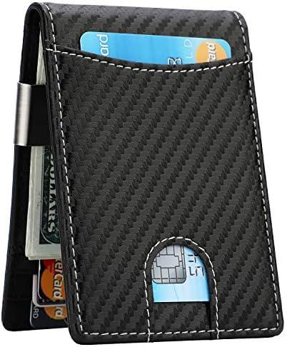 Money Clip Wallet Blocking Minimalist