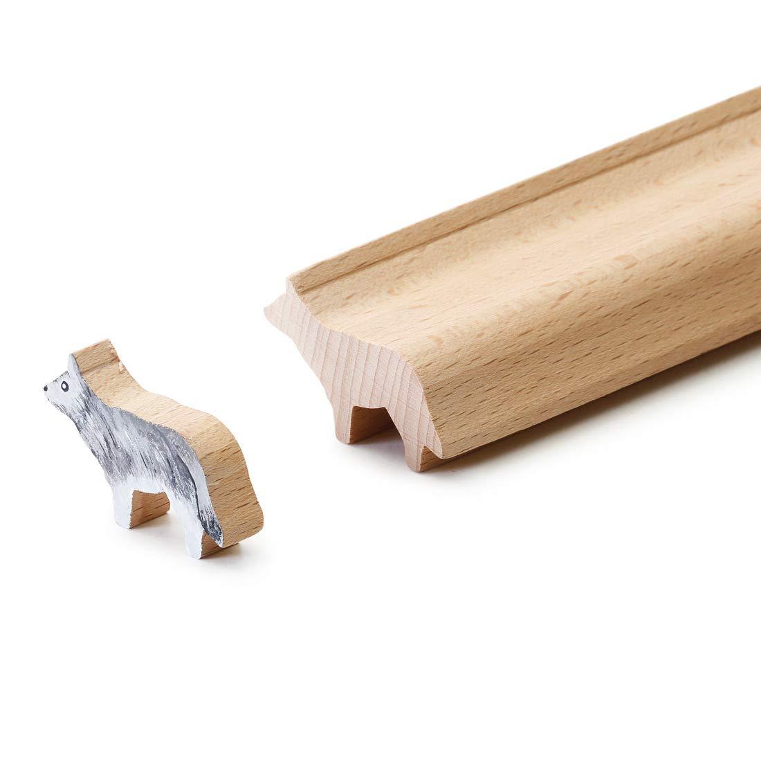 4betterdays Tolle Bastelleisten Bastelleisten Bastelleisten zum Bemalen Waldtiere - Handarbeit aus Deutschland B07KSDFTCY | Elegantes Aussehen  c785a5