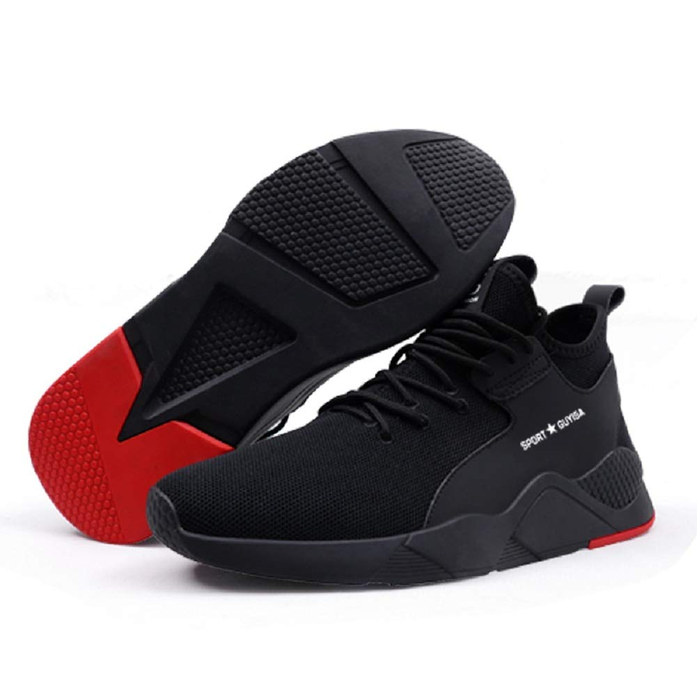 AONEGOLD Safety Shoes Men Women S3 Work Steel Toe Caps Shoes Summer Lightweight Breathable Sport Safety Trainer Sneaker