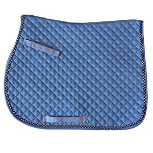 Exselle All Purpose Quilted Saddle Pad, Blue