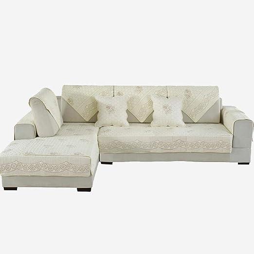 Hybad Funda Sofa Impermeable Funda Protectora de sofá Antideslizante de 2/3/4 plazas, Fundas de Cojines de sofá de algodón, Funda de sofá Acolchada Reversible para niños Perro Cat-A_110 * 180cm: Amazon.es: Hogar