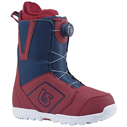 Burton Men's Moto Boa '18 Maroon/Blue Boot