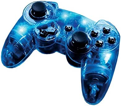 PDP - New Controller Afterglow Wireless (PlayStation 3): Amazon.es: Videojuegos