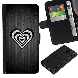 Ihec-Tech / Flip PU Cuero Cover Case para Samsung Galaxy S5 Mini, SM-G800, NOT S5 REGULAR! - Life Is Full Of Fake People