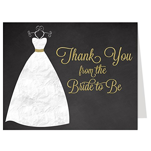 432f2819880a Amazon.com   Bridal Shower Thank You Cards