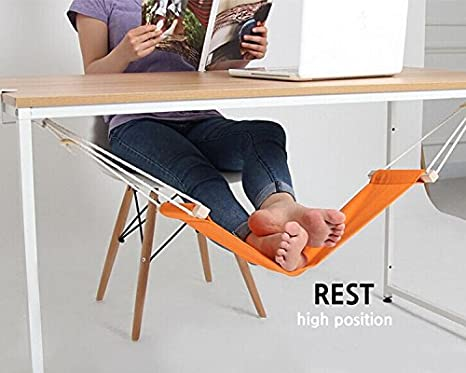 Poggiapiedi Ufficio Fai Da Te : Sgabello poggiapiedi amaca poggia piedi mini regolabile scrivania