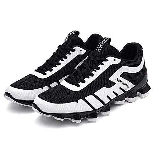 Men's Shoes Feifei Spring and Autumn Fashion Wear-Resistant Personality Tide Shoes 3 Colors (Size Multiple Choice) White QmQQb