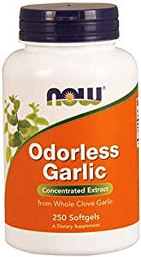 NOW Foods Odorless Garlic - 250 Softgels