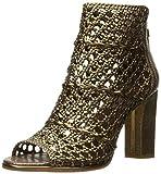 Donald J Pliner Women's Kasper-10 Heeled Sandal, Light Bronze, 7.5 M US