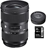 Sigma 24-35mm F2 DG HSM Standard-Zoom Lens for Nikon Cameras (588955) with...