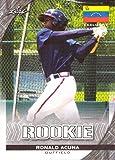 #8: 2017 Leaf Exclusive Edition #22 Ronald Acuna Jr. Baseball Card