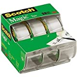 """Scotch 3105 3/4"""" X 300"""" Scotchâ Magictm Tape 3 Pack"""
