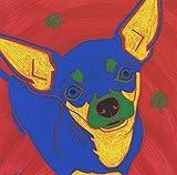 Mi Amigo chihuahua Tile Coaster, Chihuahua Decor by Angela Bond