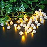 Accmor 100pcs LED Mini Round Ball Balloon Light, Long Standby Time Ball Lights for Paper Lantern Balloon Party Wedding Decoration(Yellow)