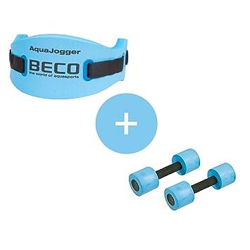 Beco Aqua Fitness Set – Woman aquajogging – Cinturón Hasta 70 kg & Beco – Mancuernas