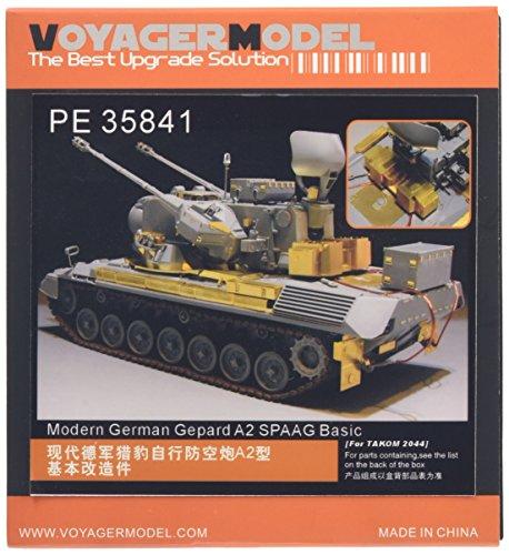 ボイジャーモデル 1/35 現用ドイツ ゲパルトA2 自走対空砲 エッチング基本セット タコム2044用 プラモデル用パーツ PE35841の商品画像