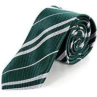 COGGIFEL Striped Tie Cosplay Necktie Christmas Halloween Party Costumes Accessories Tie Kids Boys Girls