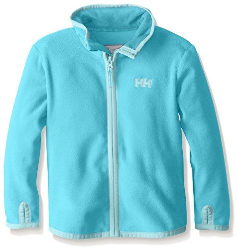 Helly Hansen K Daybreaker Fleece Jacket - Chaqueta unisex para niños Azul (252 AQUA MARINE)