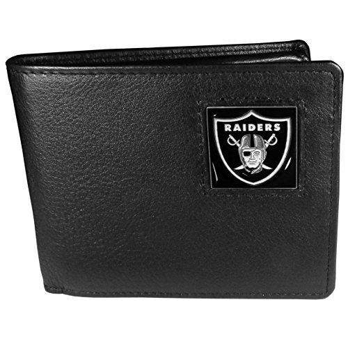 NFL Oakland Raiders Leather Bi-fold Wallet