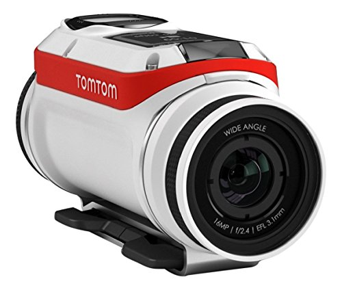 TomTom Bandit 4k Action Video Camera (Mounted Tomtom)
