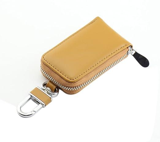 32 opinioni per Genda 2Archer Unisex auto chiave caso cuoio Con cerniera portafoglio (Giallo)