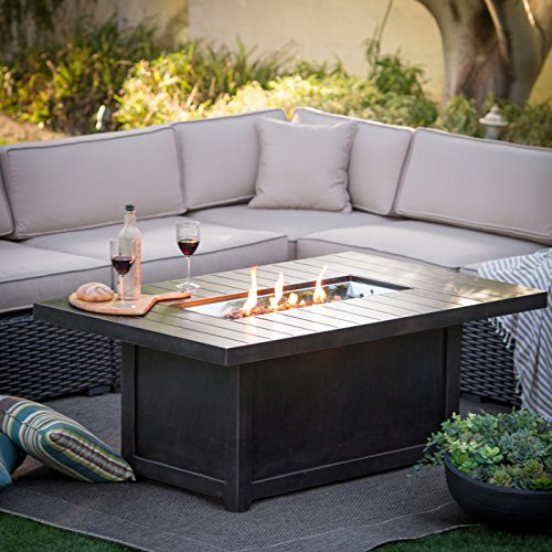 Napoleon Grills St. Tropez Rectangle Patioflame Table