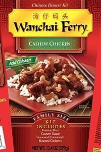 Wanchai Ferry Cashew Chicken, 13.4-Ounce Box (Pack of 6)