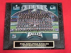 Eagles SUPER BOWL LII Champions Collector Plaque #3 w/8x10 TEAM Photo