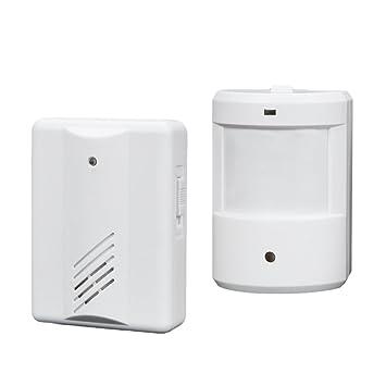 fenteer infrarrojos Paso Detector/Cargar Campana/Campana para puerta/ detector de movimiento: Amazon.es: Bricolaje y herramientas