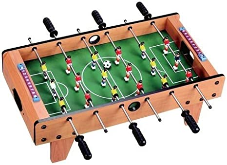 fútbol de mesa 69x37cm Futbolín Kicker de fútbol: Amazon.es: Deportes y aire libre