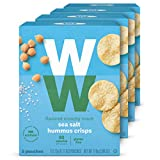 WW Sea Salt Hummus Crisps - Gluten-free, 2 SmartPoints - 4 Boxes