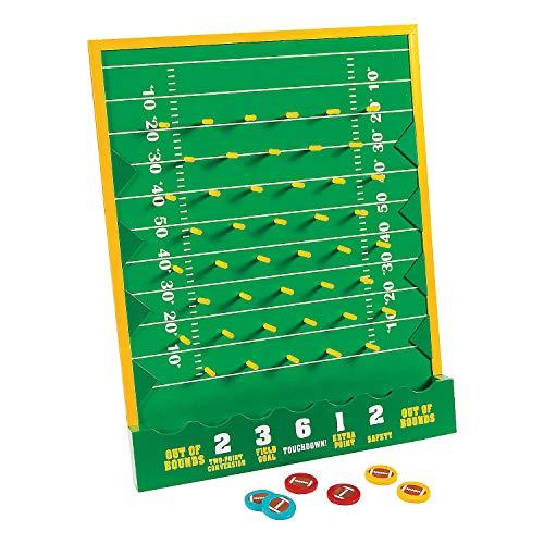 (Fun Express - Football Disc Drop Game - Toys - Games - Carnival & Bingo - 7 Pieces)