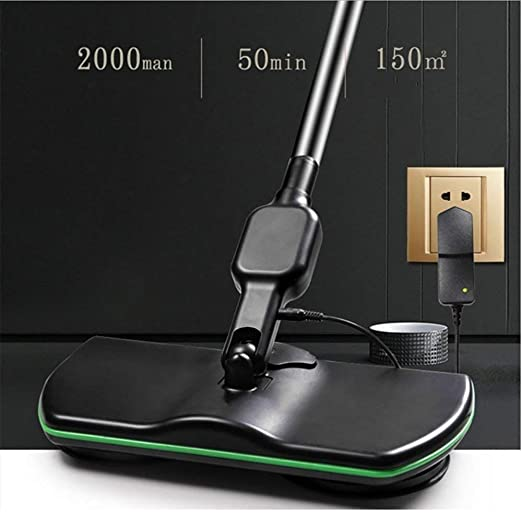 Amazon.com - YHOOEE Cordless Electric Spinning Mop, Super Maid 2018, Rechargeable Powered Floor Cleaner Scrubber Polisher Mop, Handheld Vacuum Floor and ...