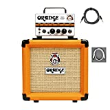 amplifier valve guitar - Orange MT20 PPC108 Bundle Micro Terror Tube Hybrid Guitar Amp Head & Cabinet